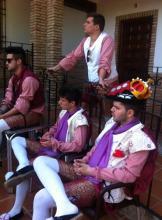 Carnaval en el Albergue Fuente Agria
