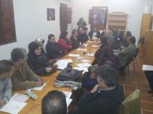 Sala de reuniones Albergue Rural Fuente Agria