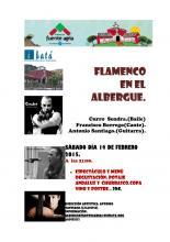 Flamenco en el Albergue Fuente Agria 2