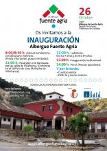 Inauguración Albergue Rural Fuente Agria Villafranca de Córdoba