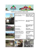 programacion febrero 2015 albergue fuente agria